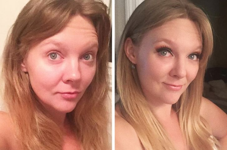 15 Bright Siders Show Themselves Before and After Applying Makeup and We Can't Decide Which Look is More Beautiful