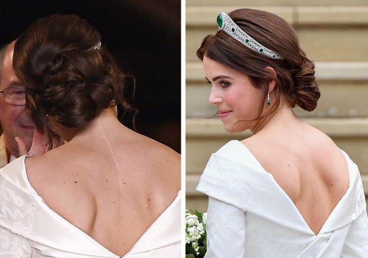 Gaun pengantin Putri Eugenie.