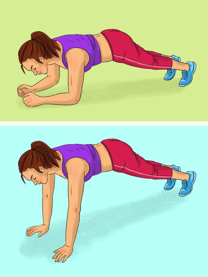 12 Types of Planks for Each Muscle Group That Can Replace a Gym Membership