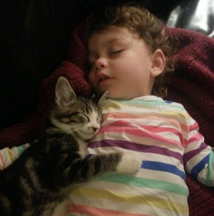 20 Tender Photos Showing the Deep Bond Between Kids and Their Pets