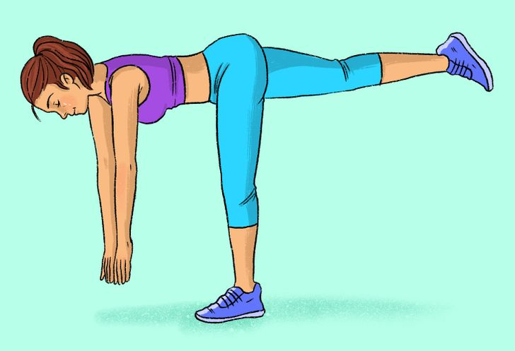 9 Exercises That'll Tighten Your Butt and Legs Without Going to the Gym