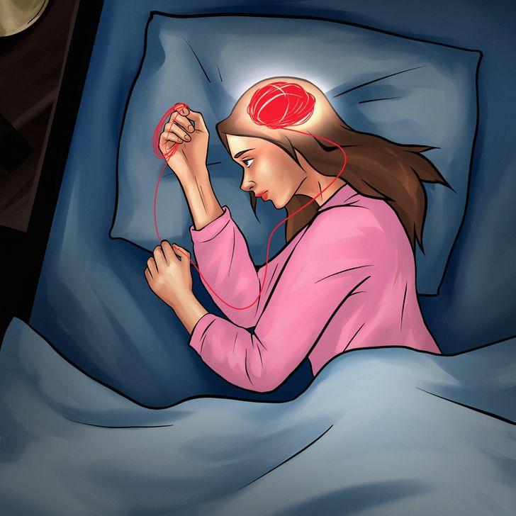 Uykunuzu Kaçıran Düşüncelerden Kurtulmak İçin 10 Öneri!