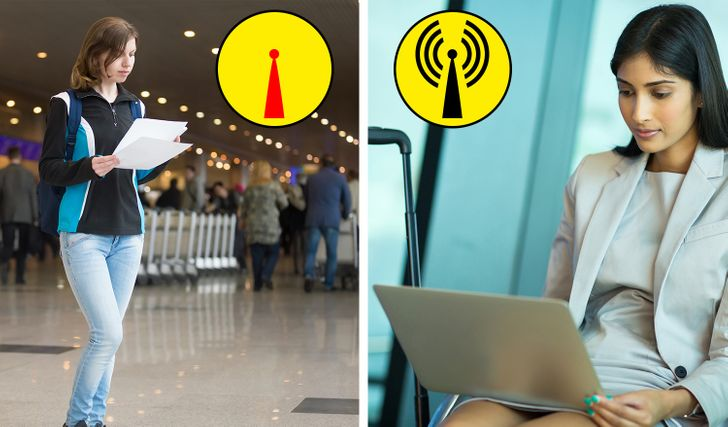 20Little-Known Tricks That Can BeVery Useful inEvery Airport