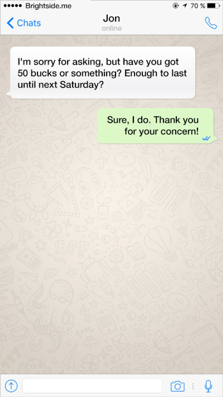 14text messages that sparkle with office humor