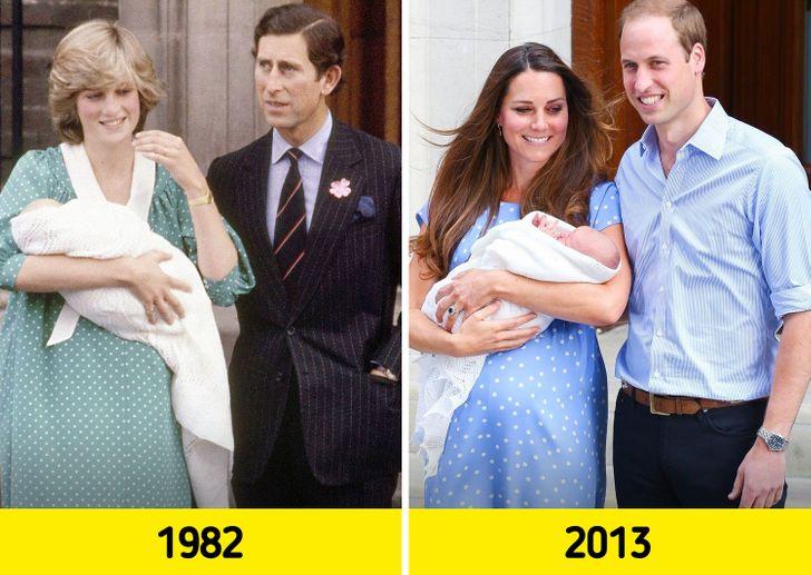 Dress Kate Middleton yang mirip Putri Diana.