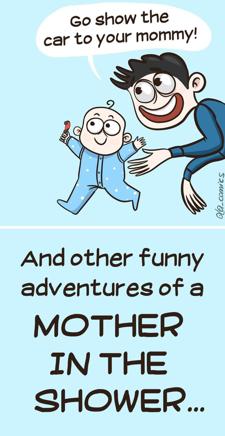 14 Funny Comics That Prove All Moms Deserve a Special Award for the Job They're Doing