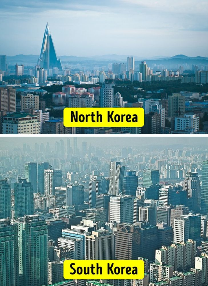 15 Striking Changes In North And South Korea After 70 Years Of