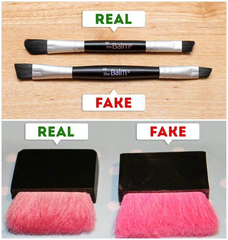 maquillaje falso