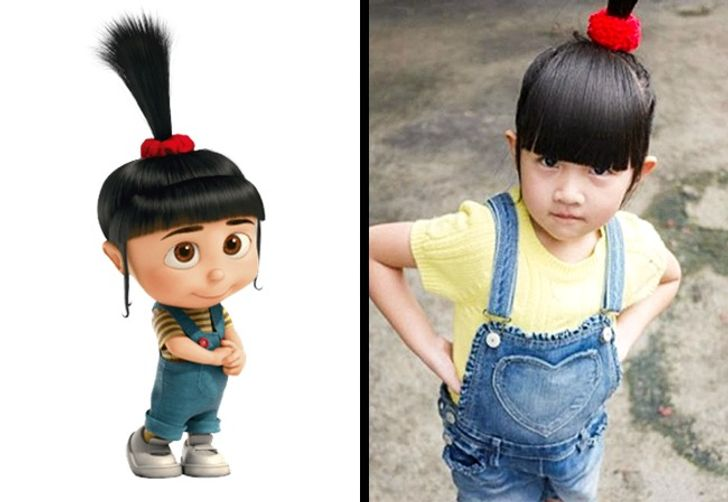 16 Real People Who Are The Spitting Images Of Famous Cartoon