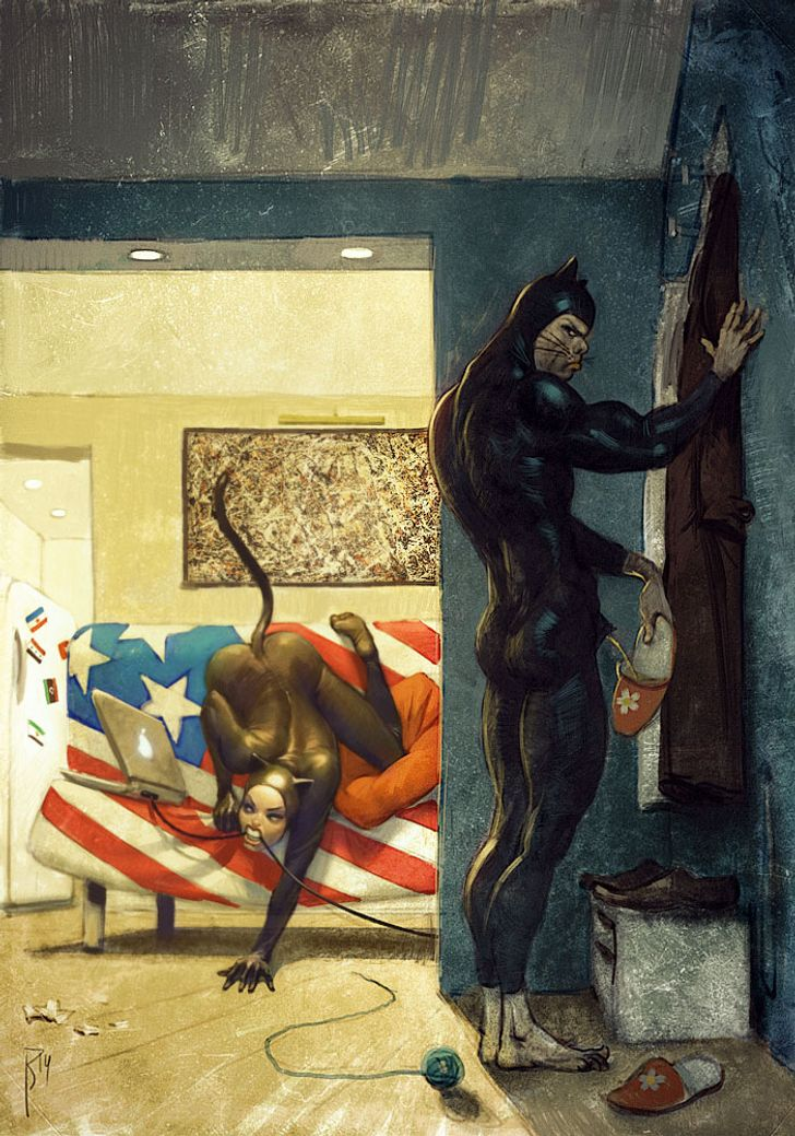 15 Paintings That Perfectly Illustrate the Crazy World We Live In