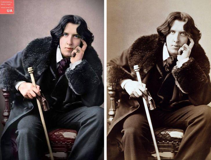 Rakúsky umelec trávi 3 000 hodín dýchaním nového života na fotografie historických tvárí a udalostí
