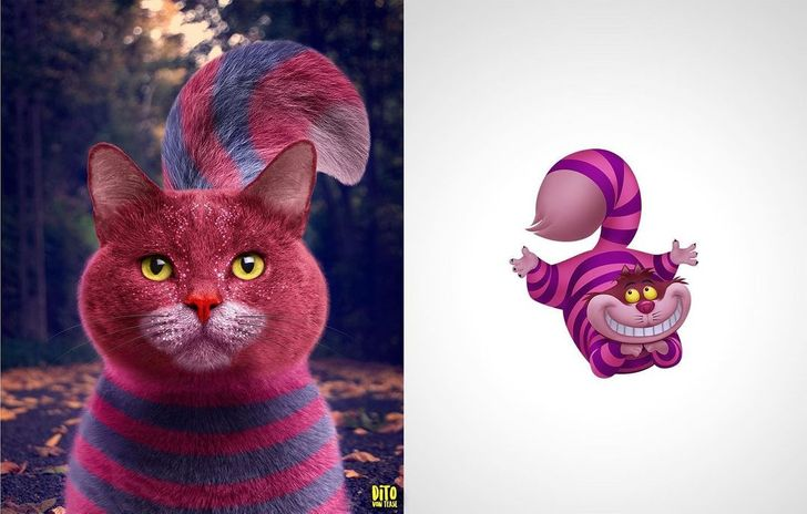 An Artist Reimagined Our Childhood Cartoon Characters as Real-Life Beings