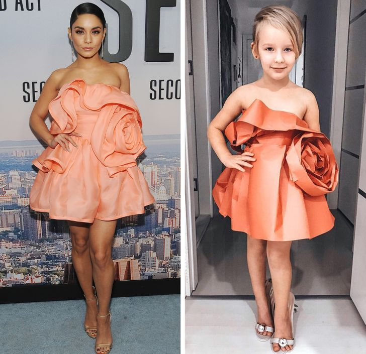 A Mom and Her 6-Year-Old Daughter Recreate Red Carpet Outfits That Outshine the Originals