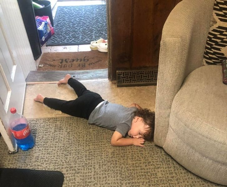 20+ Photos That Prove Children Live in Another World With Its Own Rules