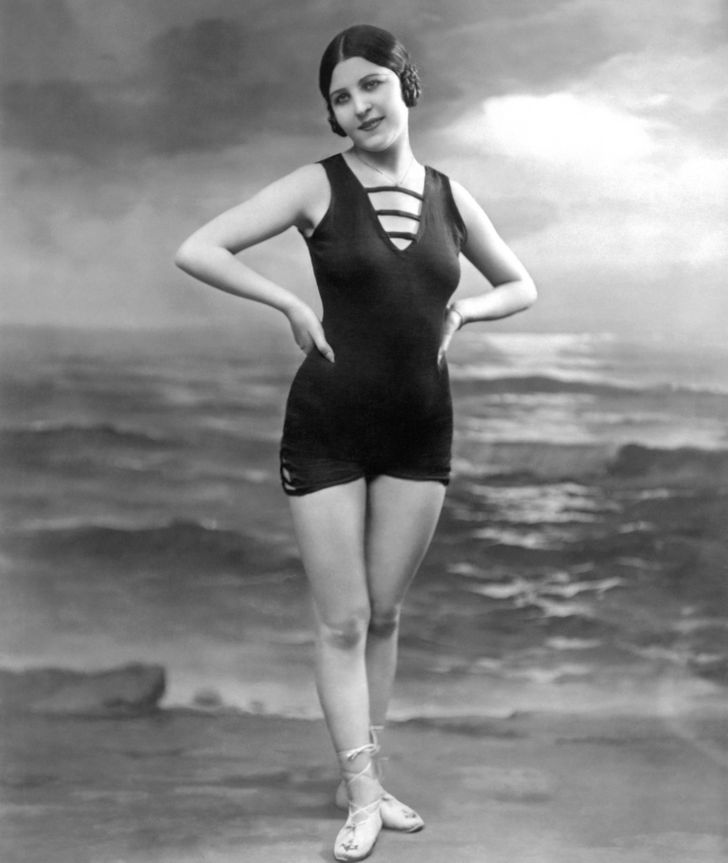 How Swimsuits Have Changed Throughout History (It's Great That 2010 Is in the Past)