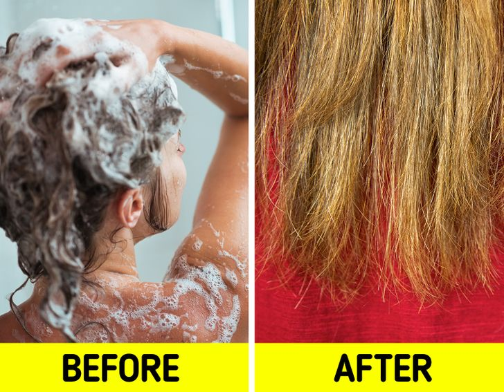 7 Signs You Wash Your Hair Too Often