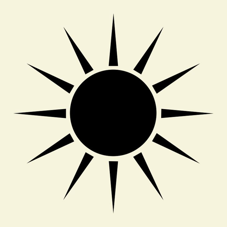 The Sun You Choose Will Show You the Hidden Features ofYour Personality