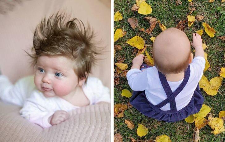 Prečo niektoré deti majú vlasy a iné nie