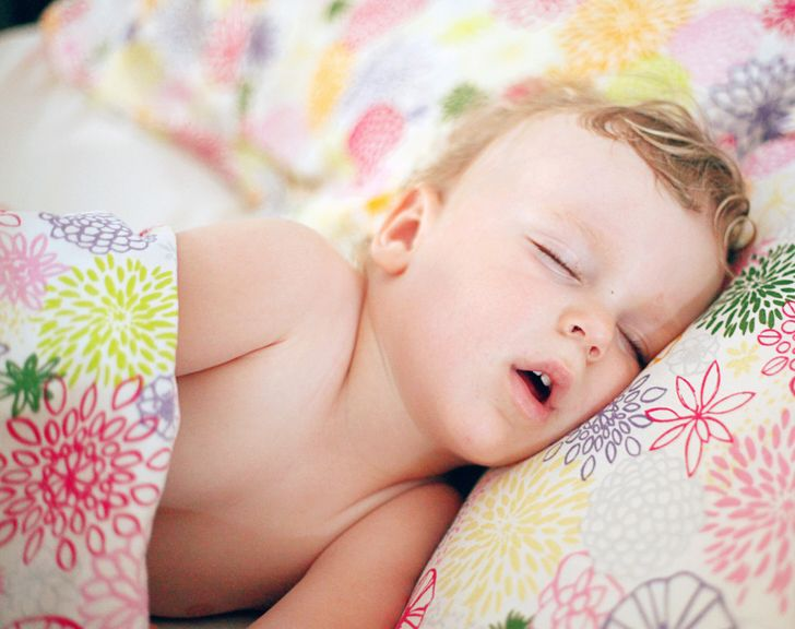What Can Happen to Kids If They Sleep With Their Mouths Open