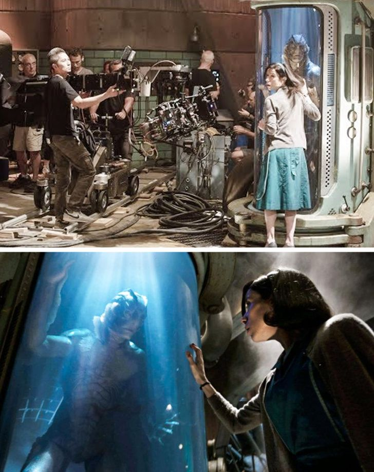 18 Pictures That Show What's Happening Behind the Scenes of Our Favorite Movies