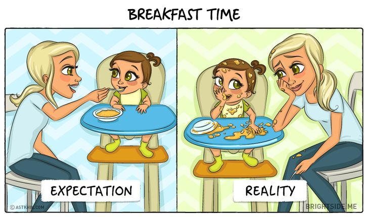 How our lives change when webecome parents
