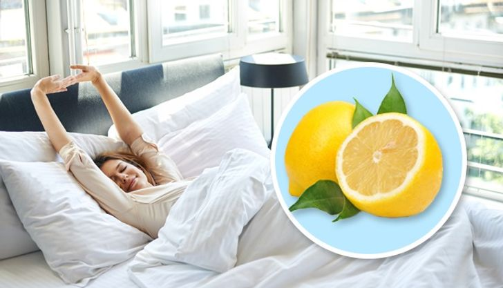 Here's What Will Happen ifYou Place aPiece ofLemon Next toYour Bed