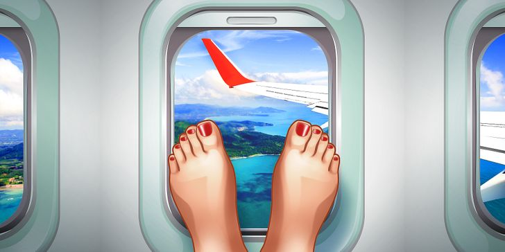 10 Things You Should Never Do on a Plane