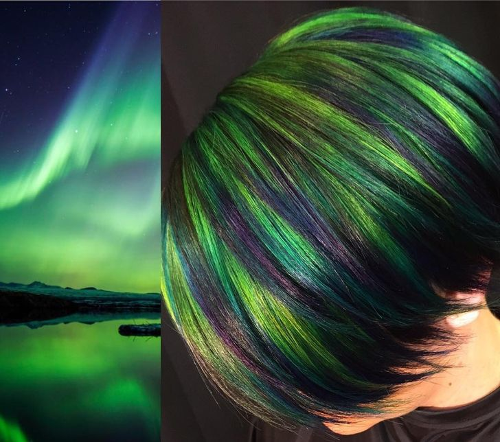 An American Stylist Turns Mesmerizing Nature Images Into Hair Designs, and We Want to Dive Into Them