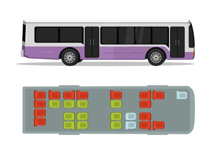 How to Choose a Safe Seat in 7 Means of Transport