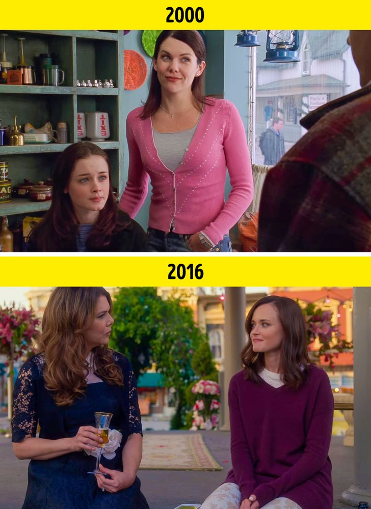 13 Comparisons Between the First and Last Episodes of Popular TV Shows