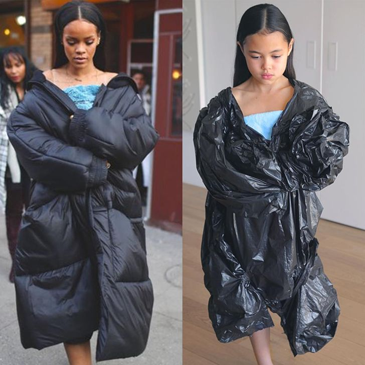 AGirl Recreates Celebrity Outfits atHome, and They Outshine the Originals
