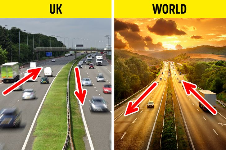 Why Brits Drive on the Left Side of the Road, Plus 10 Normal Things in Other Countries That Baffle Foreigners