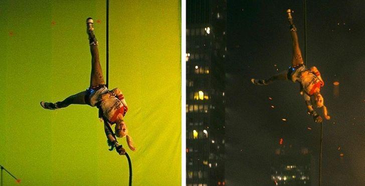 16 закулисных фотографий, которые показывают, что на самом деле происходит на съемочных площадках