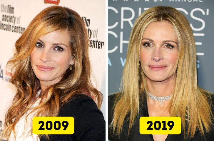 15 Celebrities Who Haven't Aged a Tiny Bit Over the Last 10 Years