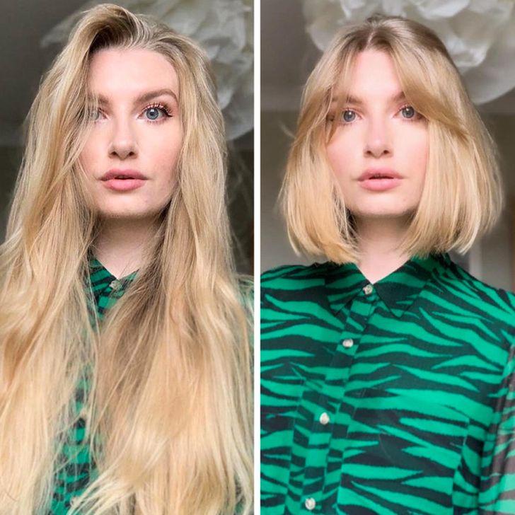 Short women vs long hair Why Short