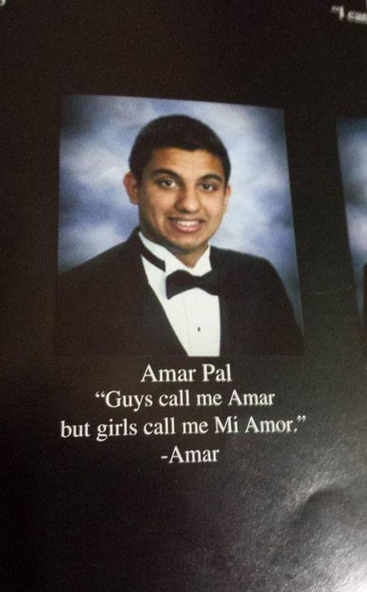 26 Funny Quotes That Made These Students Yearbooks Unforgettable