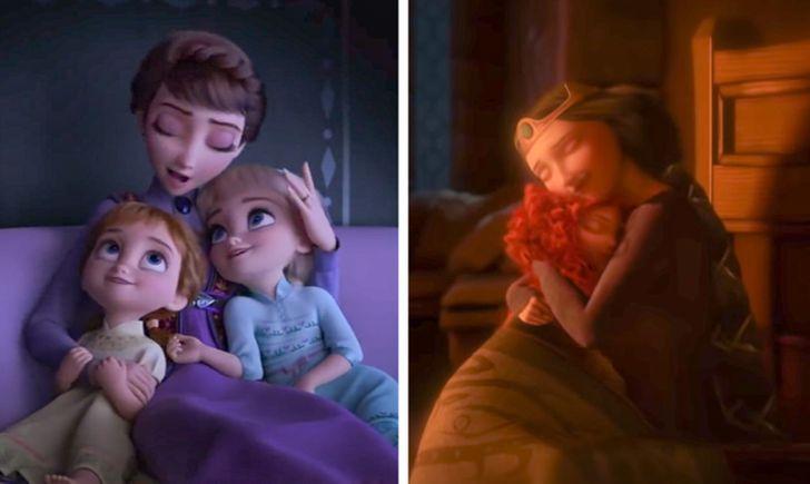 © Frozen 2/ Walt Disney Animation Studios, © Brave/ Walt Disney Animation Studios