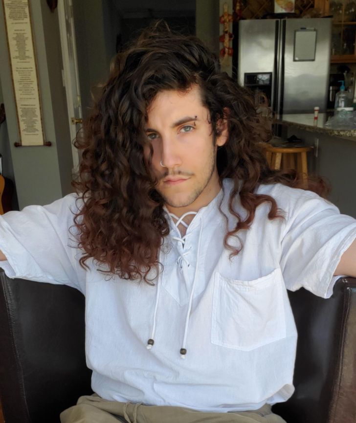 25 Men Who Ditched Short Hair in Favor of Glorious Manes