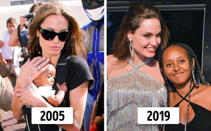 Angelina Jolie ve Brad Pitt'in Çocukları Şimdi Nasıl Görünüyor?