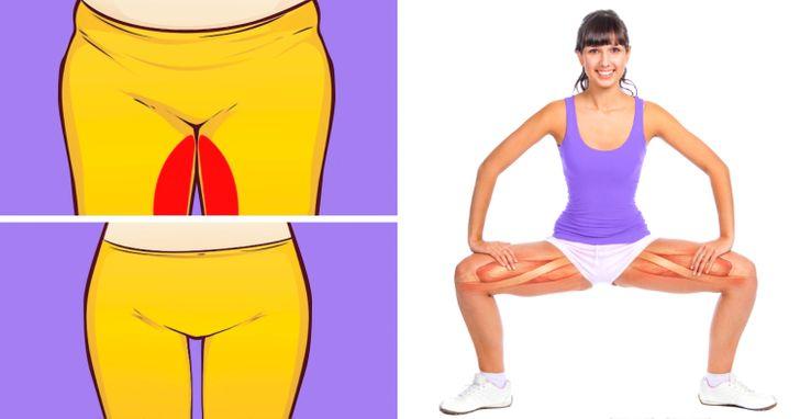 Gap thick thigh Thigh gap
