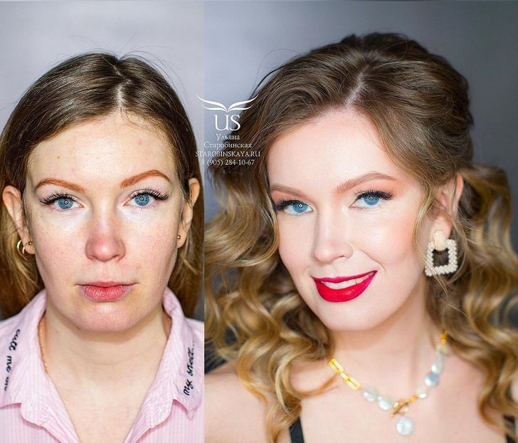 20 People Who Got Their Glow-Ups After a Makeup Artist Sprinkled Her Magic on Them