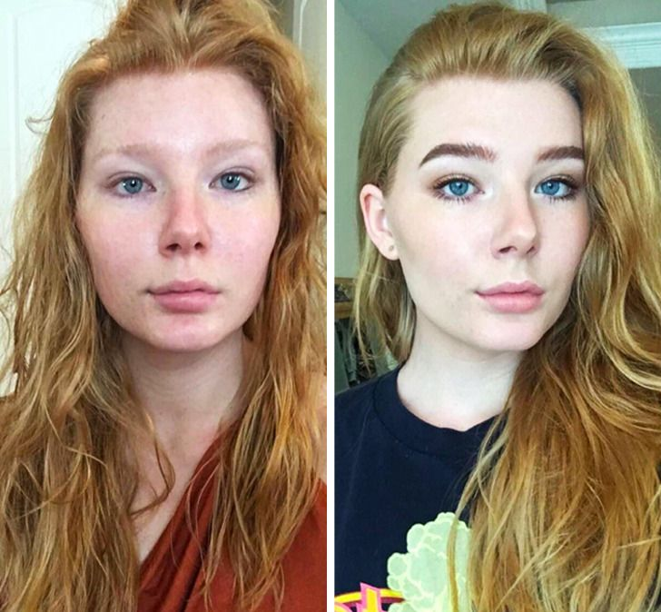 16 Girls Who Showed How No Makeup Makeup Can Change Your Face
