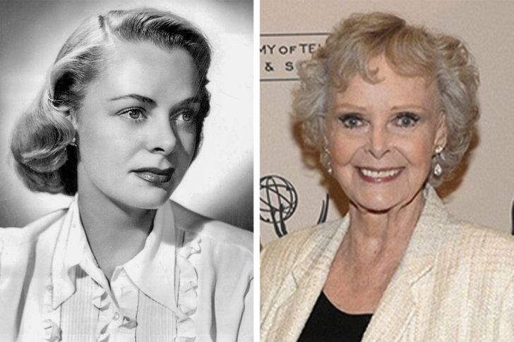 15 Knockout Celebs That Are Close to a Century Old: Then and Now