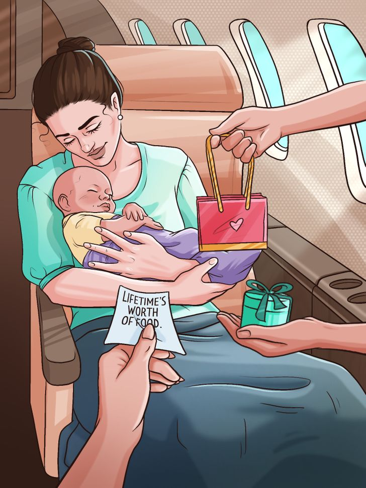 What Happens If a Woman Gives Birth on a Plane