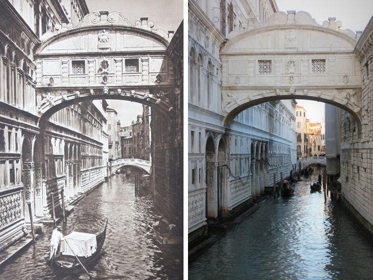 Bir Fotoğrafçı, 100 Yılın Nasıl Yer Değiştirebileceğini Göstermek İçin Avrupa'yı Gezdi