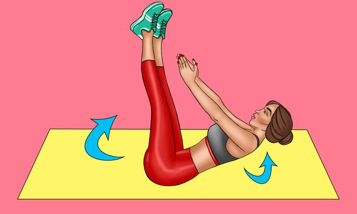 Exercise For Quick Flat Stomach For Beginners