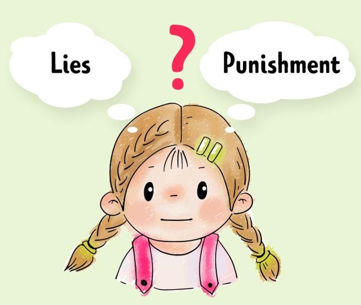 Lying child for punishment Punishing Kids