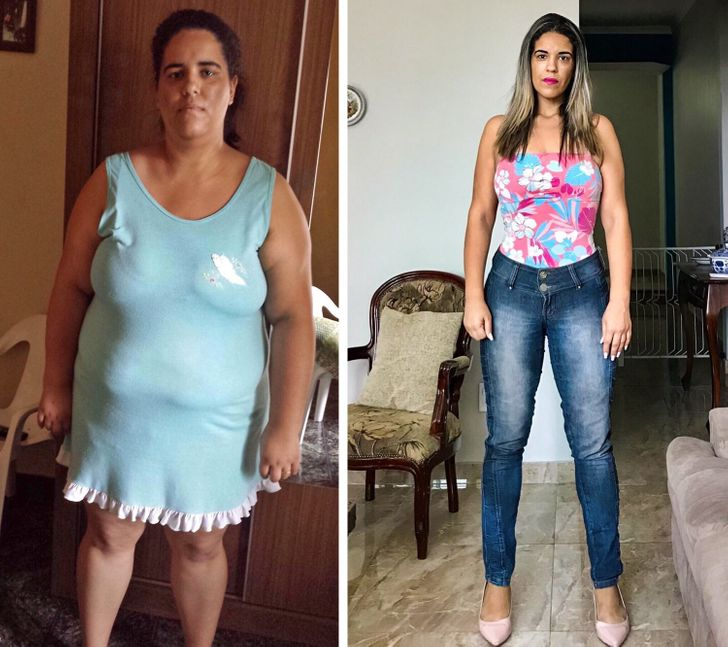 15+ Strong-Willed People Who Lost Extra Weight and Turned Their Lives Around
