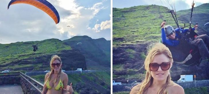 21Strangers Photobombed Ordinary Photos and Turned Them Into Real Gems