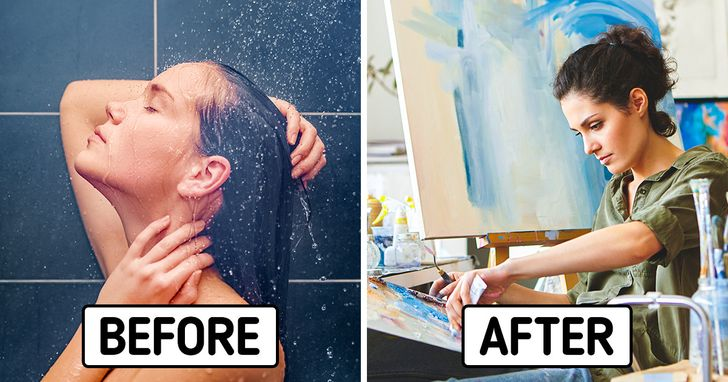 Why Our Best Ideas Come to Us in the Shower